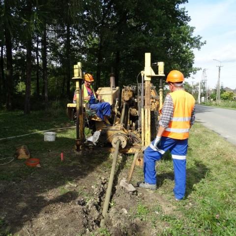 Budowa systemu kanalizacji sanitarnej w sołectwach Wiślica, Wilamowice i Pierściec Gmina Skoczów.